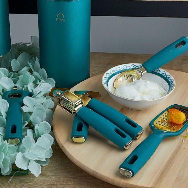 kadonalnd-NEVA Mentol Premium 5'li Mutfak Gereçleri Seti - N2639