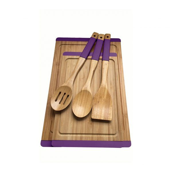 kadoland-Neva Mor Sweet Bambu Mutfak Seti - N2378
