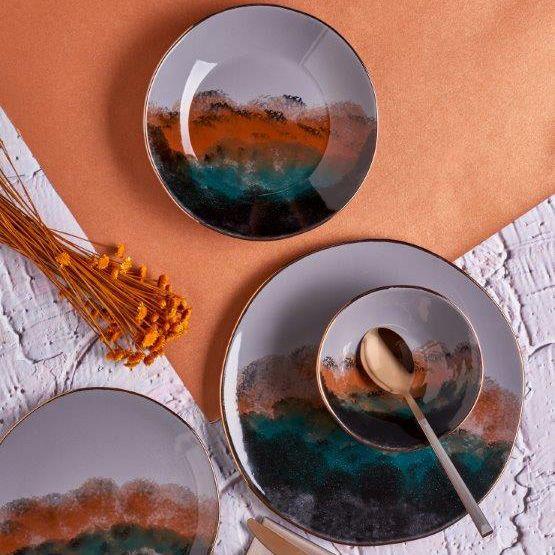 kadoland-Neva Grizay Dream Yemek Takimi- 24 Parca - N2804