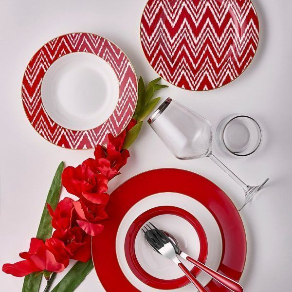 kadoland-Neva Kırmızı Sweet Ayrılmaz İkili - 48 Parça - N2364 + N2586 2