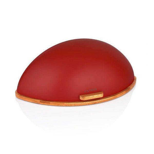 kadoland-Neva Kırmızı Sweet Badem Ahsap Ekmeklik - N2649