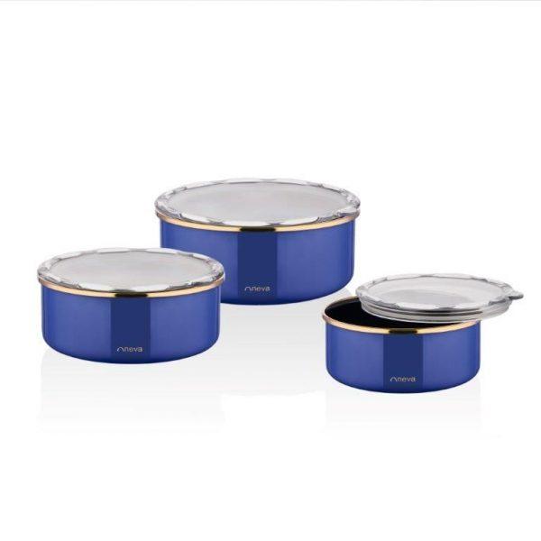 kadoland-Neva Yakamoz Premium 3 Lu Emaye Pisir Sun Ye Kaplari - N2779