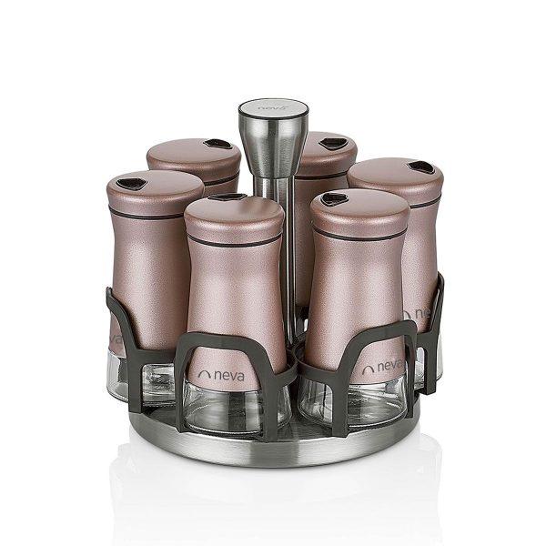 kadoland-neva-Rose Chocolate Baharat Seti - 6 Li - N2490